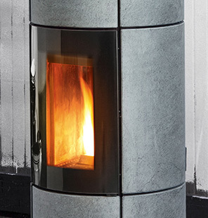 Wider combustion chamber for an even more beautiful view of the flame